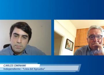 Carlos Ominami, candidato a constituyente por el distrito 6 presentó sus propuestas